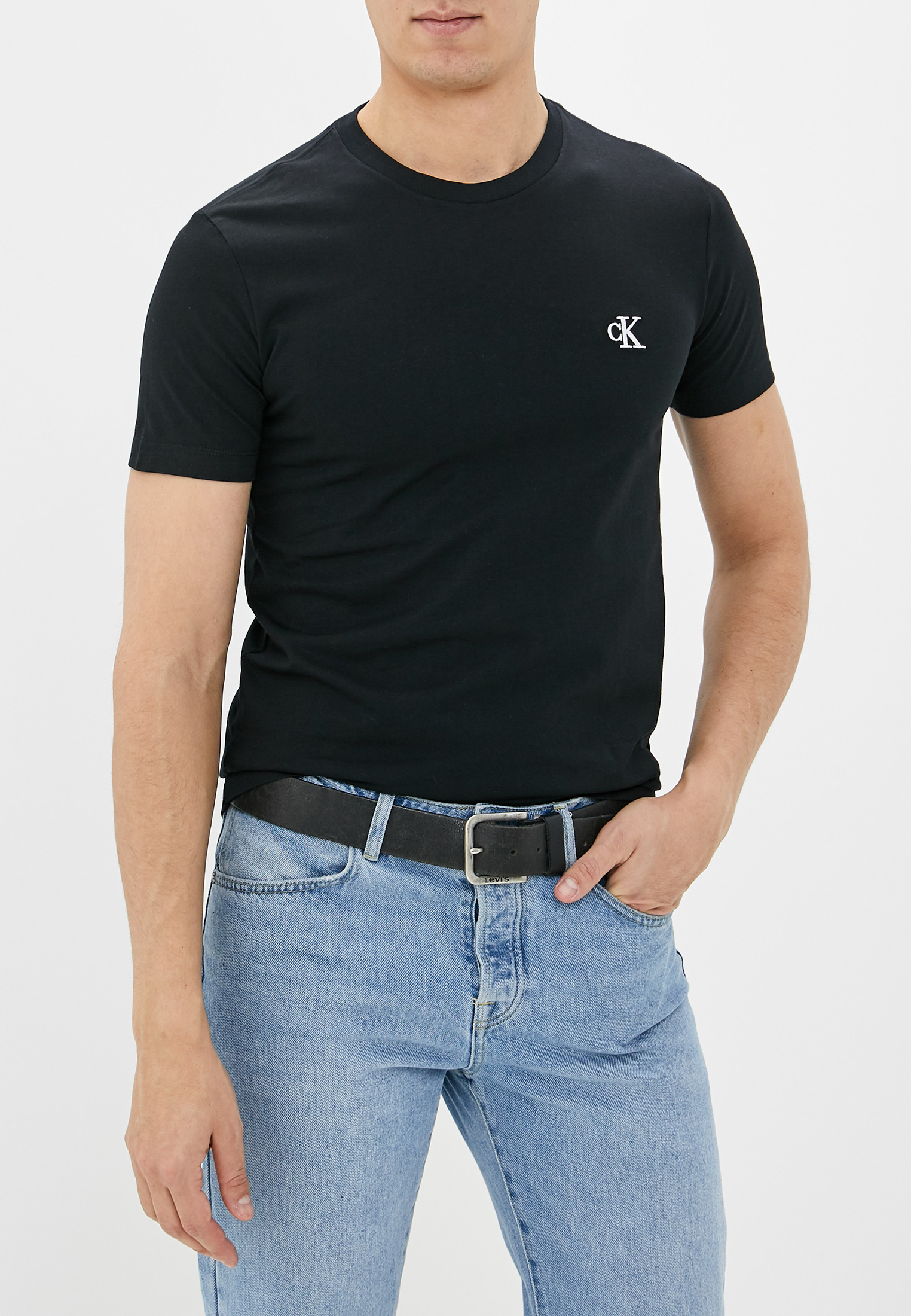 Футболка Calvin Klein Jeans за 3 400 ₽. в интернет-магазине Lamoda.ru