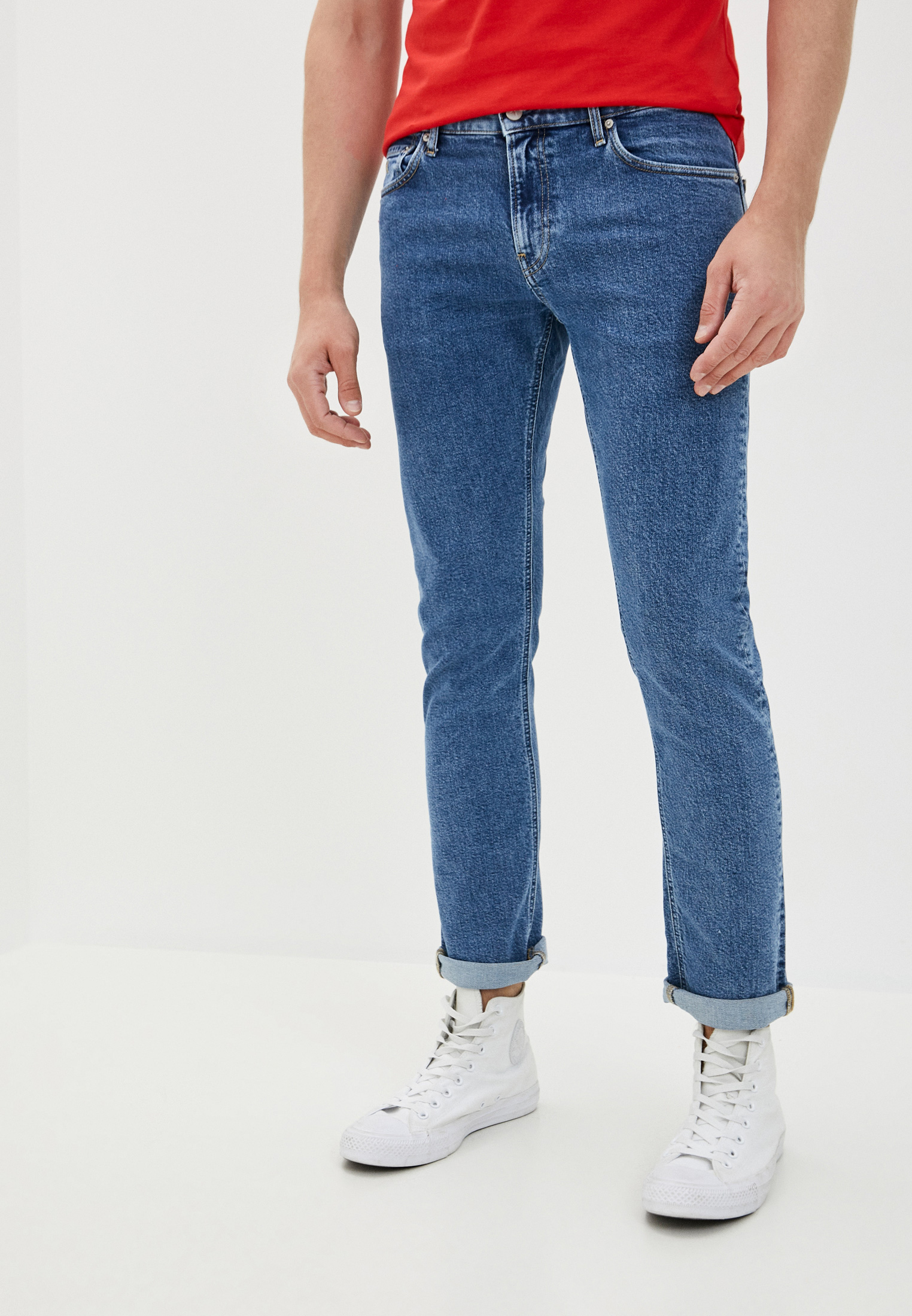 Джинсы Calvin Klein Jeans Slim за 10 300 ₽. в интернет-магазине Lamoda.ru