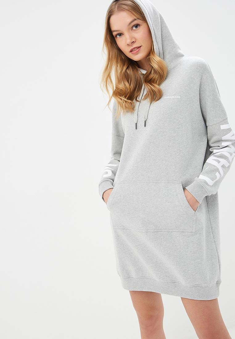 122b8edbde1e0 Платье Calvin Klein Jeans купить за 11 300 руб, модель 2019 года ...