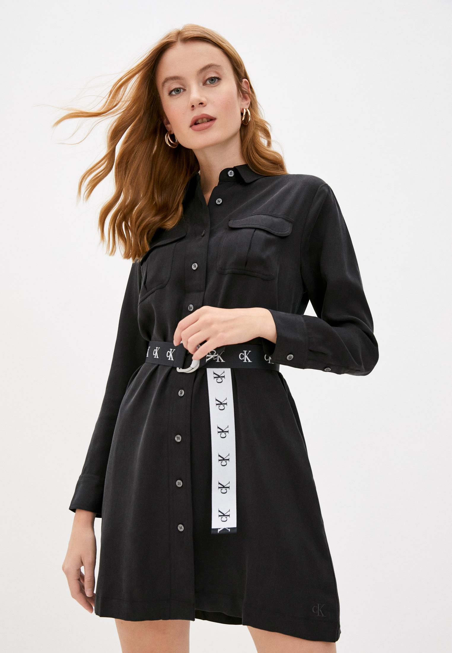 Платье Calvin Klein Jeans за 12 800 ₽. в интернет-магазине Lamoda.ru