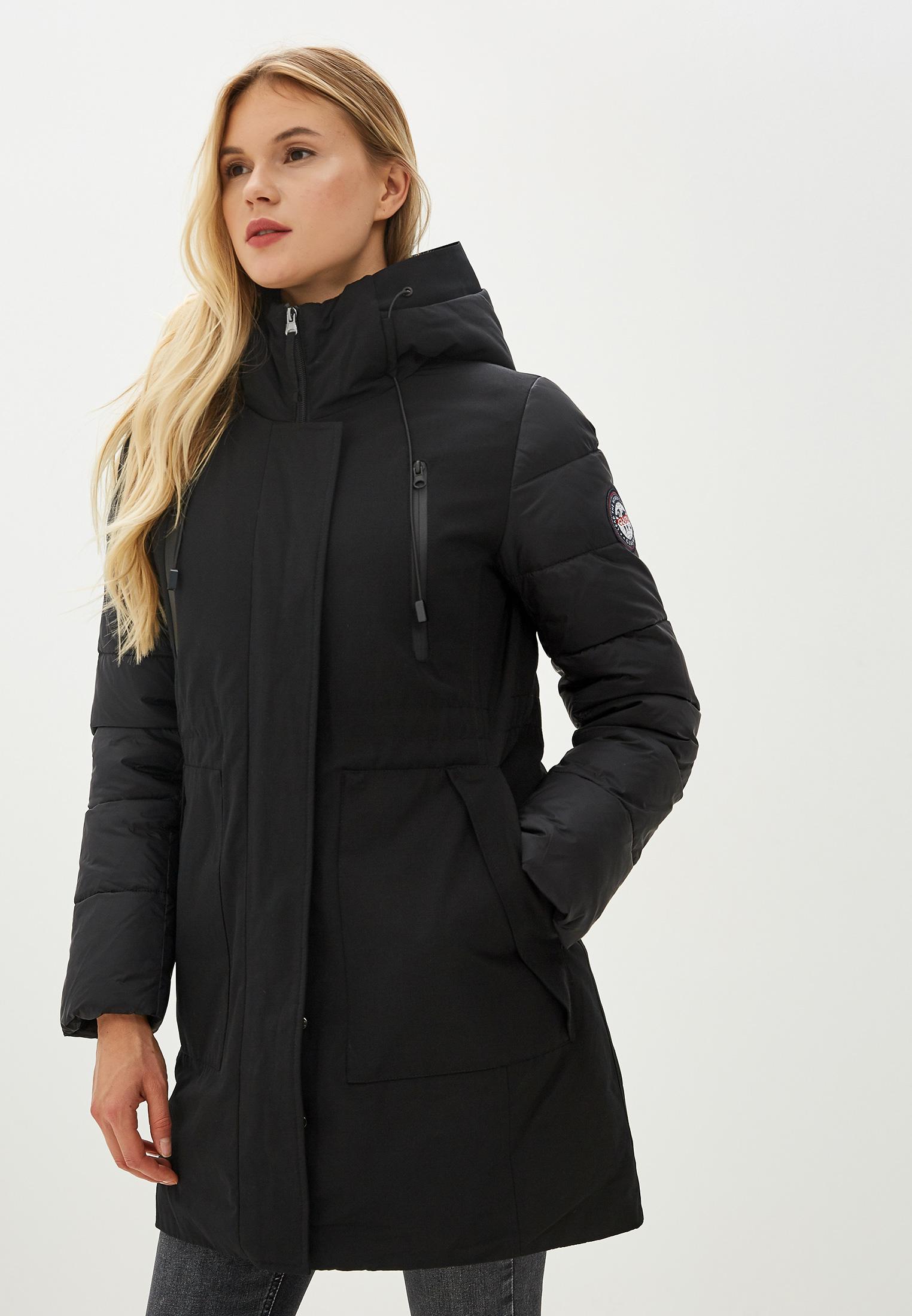 Парка, Clasna, цвет: черный. Артикул: CL016EWGTCG1. Одежда / Верхняя одежда / Парки