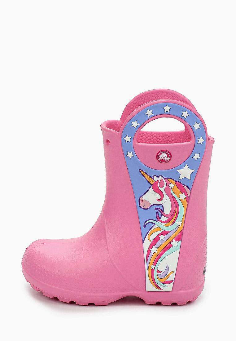 Crocs Резиновые сапоги CrocsFL Uncrn Ptch Rain Boot G