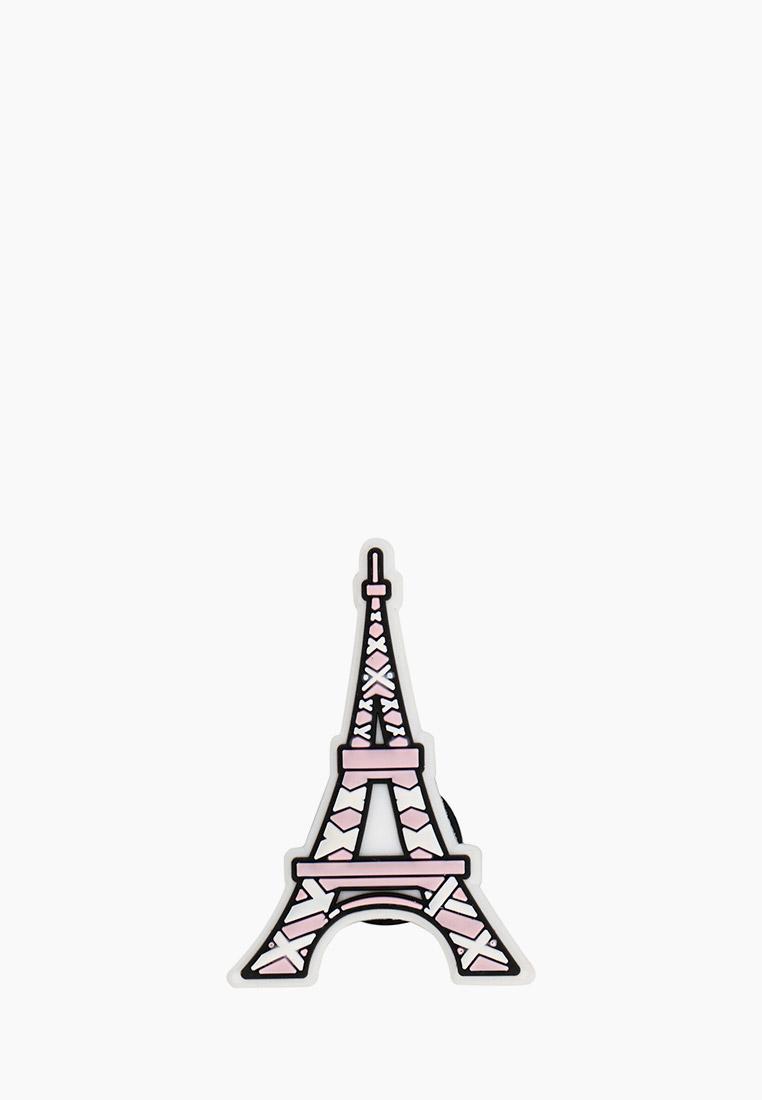 Джиббитсы Crocs Eiffel Tower за 199 ₽. в интернет-магазине Lamoda.ru