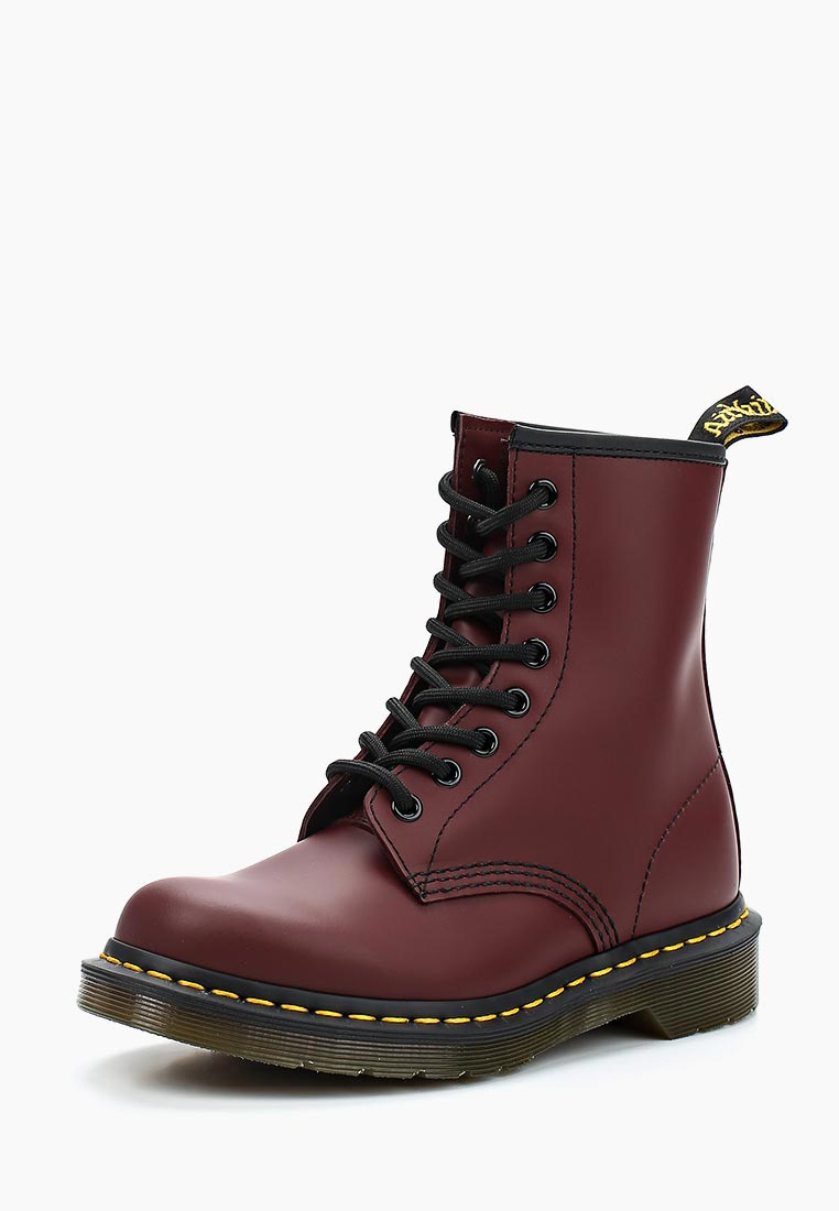 eecb44c9ddb3 Ботинки Dr. Martens 1460 купить за 13 900 руб DR004AUFL813 в  интернет-магазине Lamoda.ru