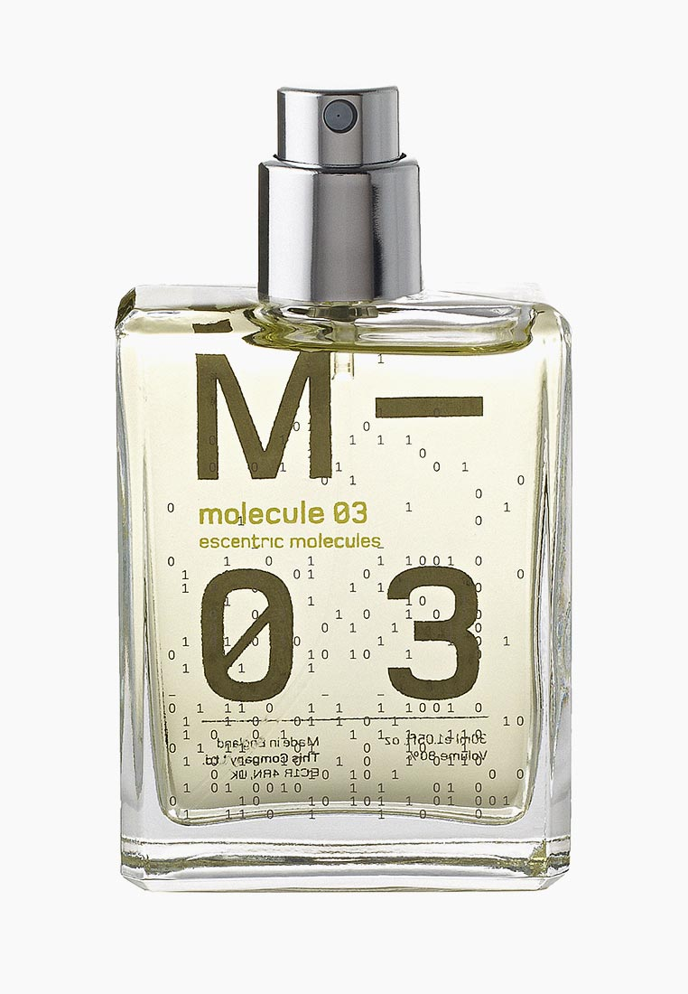 Туалетная вода Escentric Molecules MOLECULE 03 EDT 30 мл cased за 5 520 ₽. в интернет-магазине Lamoda.ru