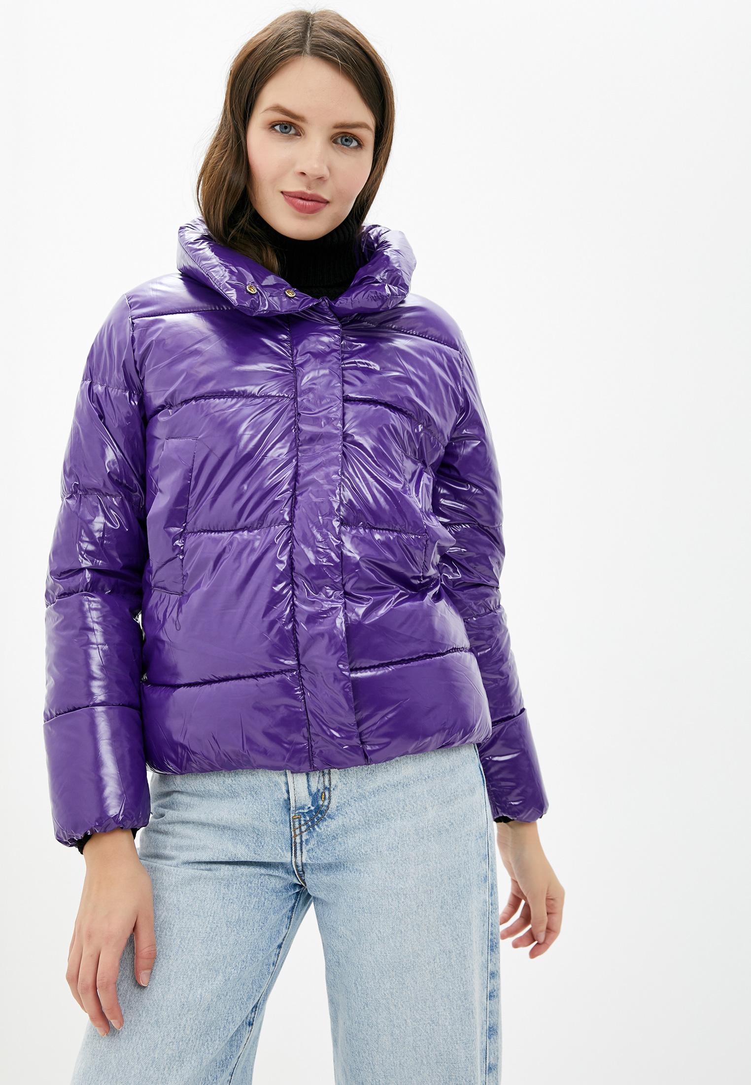 Куртка утепленная, Fresh Cotton, цвет: фиолетовый. Артикул: FR043EWHDVY1. Одежда / Верхняя одежда
