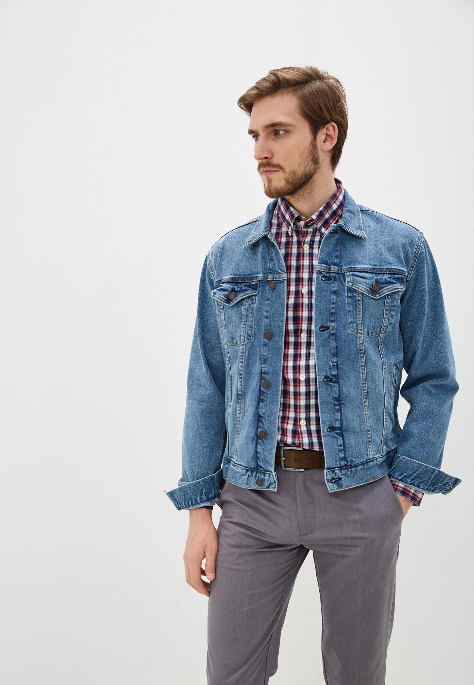 с чем носить мужскую джинсовую куртку фото оборудование
