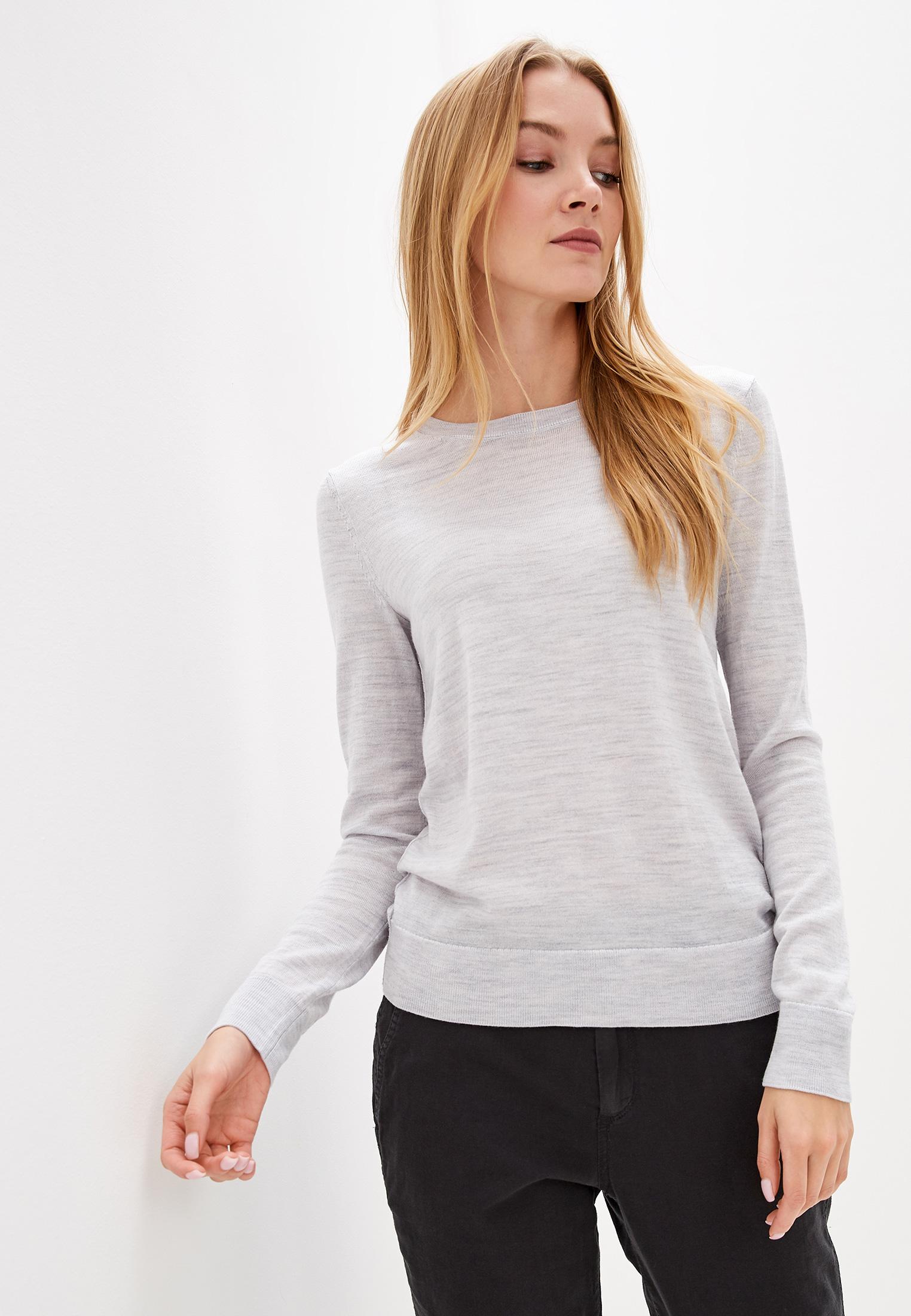 Джемпер, Gap, цвет: серый. Артикул: GA020EWGKTQ9. Одежда / Джемперы, свитеры и кардиганы