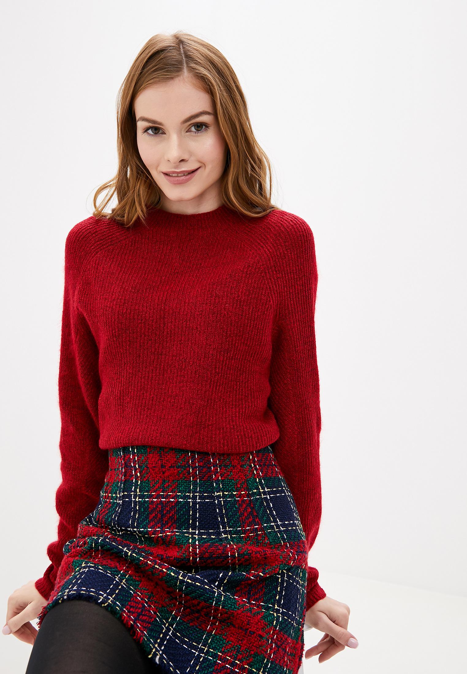 Джемпер, Gap, цвет: красный. Артикул: GA020EWGKTT6. Одежда / Джемперы, свитеры и кардиганы
