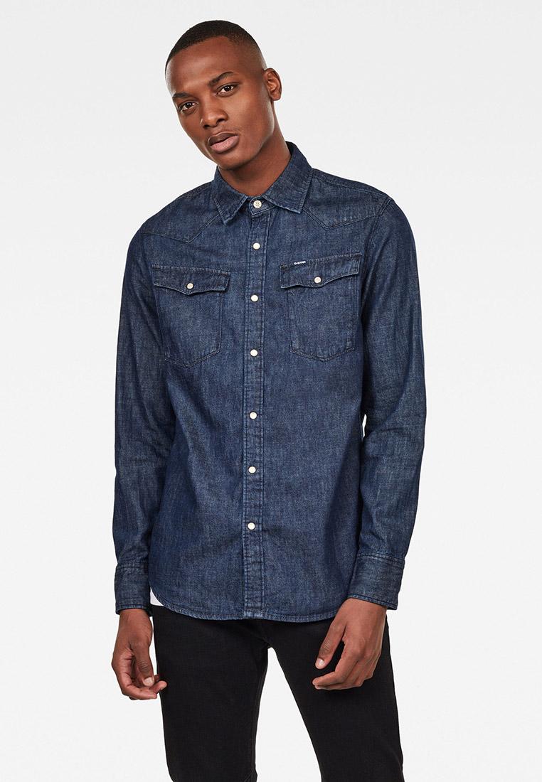 Рубашка джинсовая G-Star за 7 100 ₽. в интернет-магазине Lamoda.ru