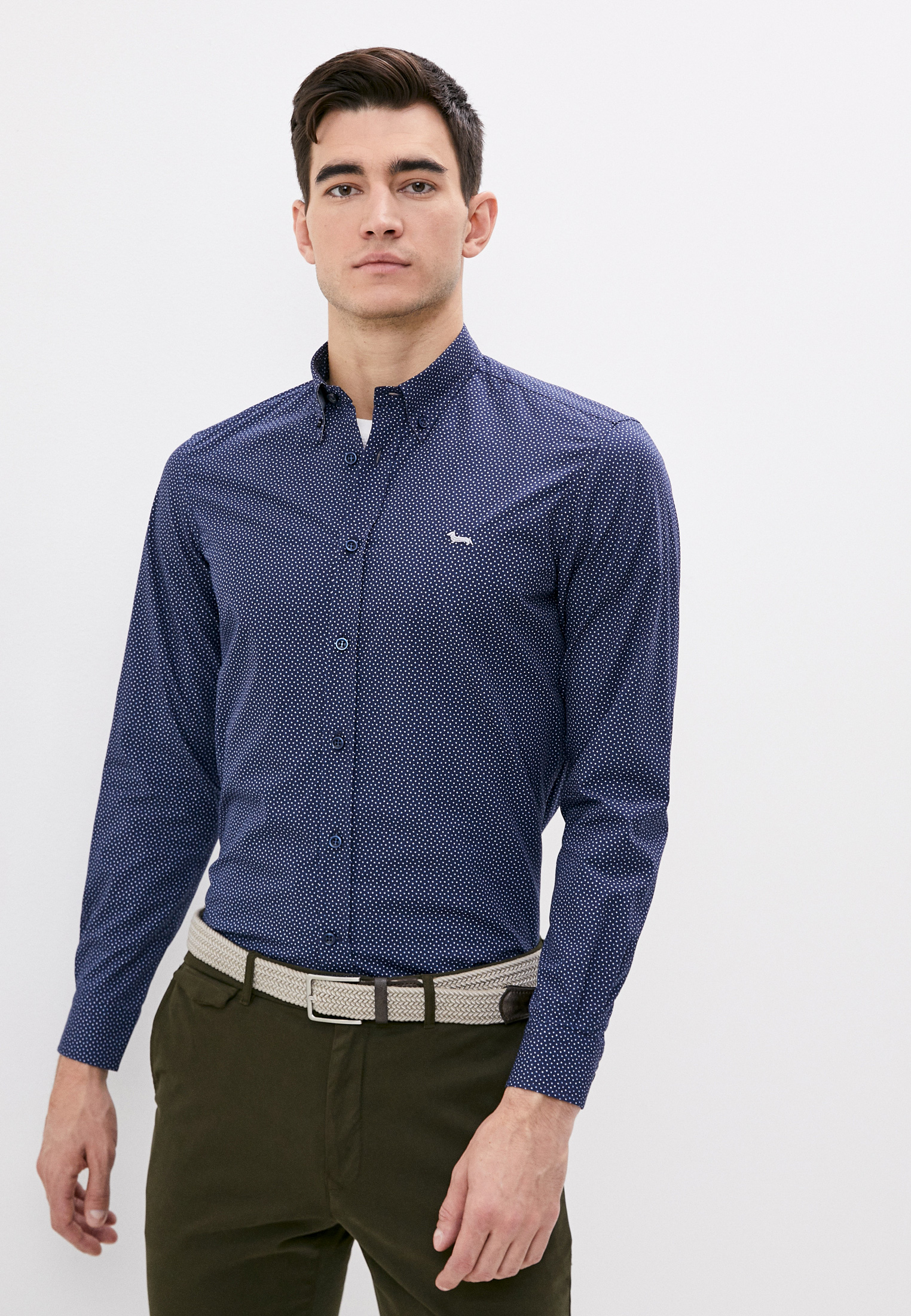 Рубашка Harmont & Blaine за 17 200 ₽. в интернет-магазине Lamoda.ru