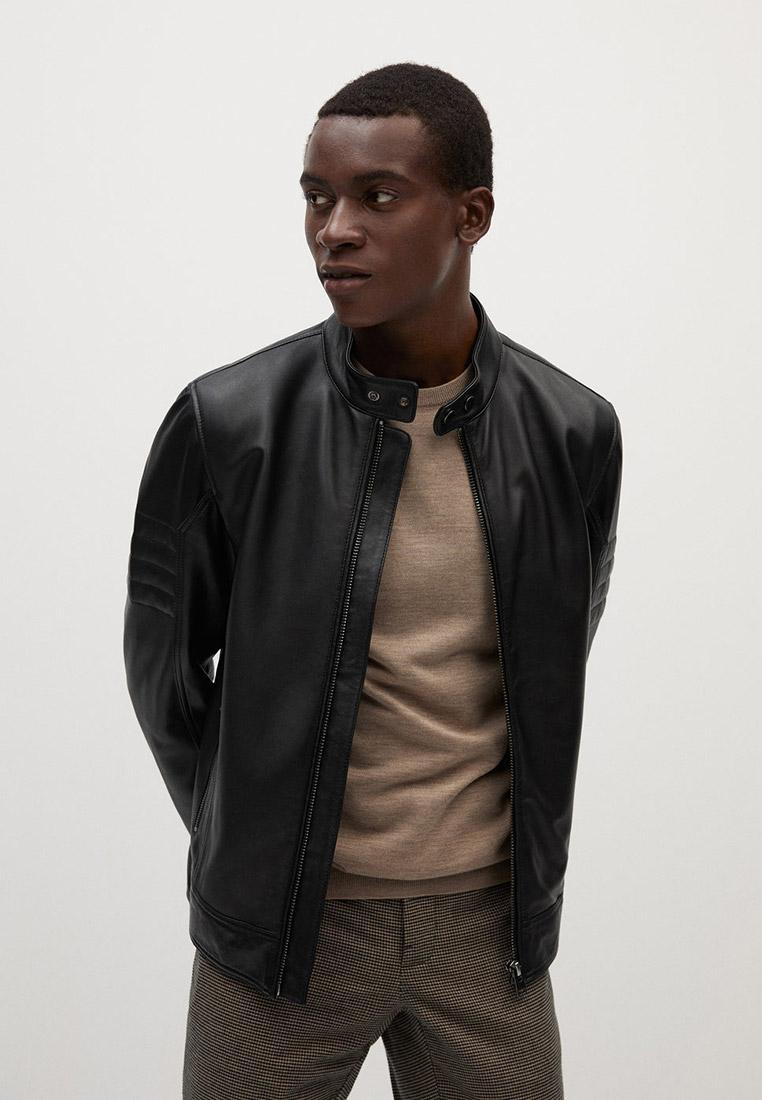 Куртка кожаная Mango Man - CUIR купить за 15 999 ₽ в интернет-магазине Lamoda.ru