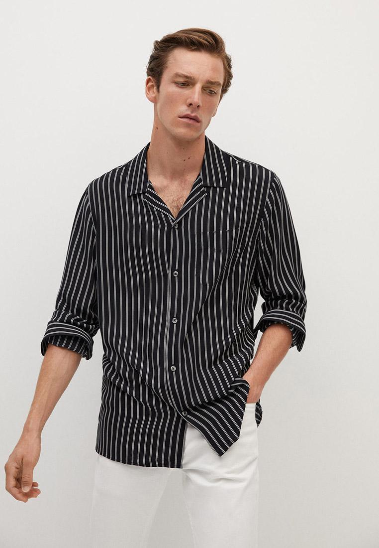 Рубашка Mango Man - STRIPE купить за 2 324 ₽ в интернет-магазине Lamoda.ru