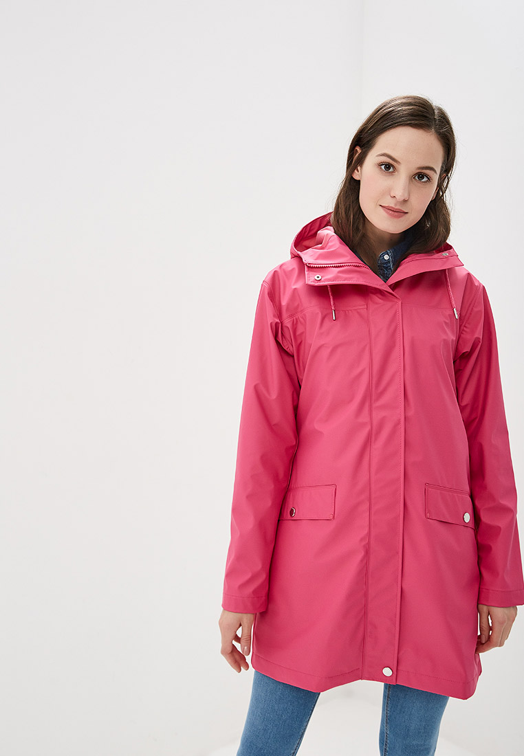 Плащ, Helly Hansen, цвет: розовый. Артикул: HE012EWELRA6. Одежда