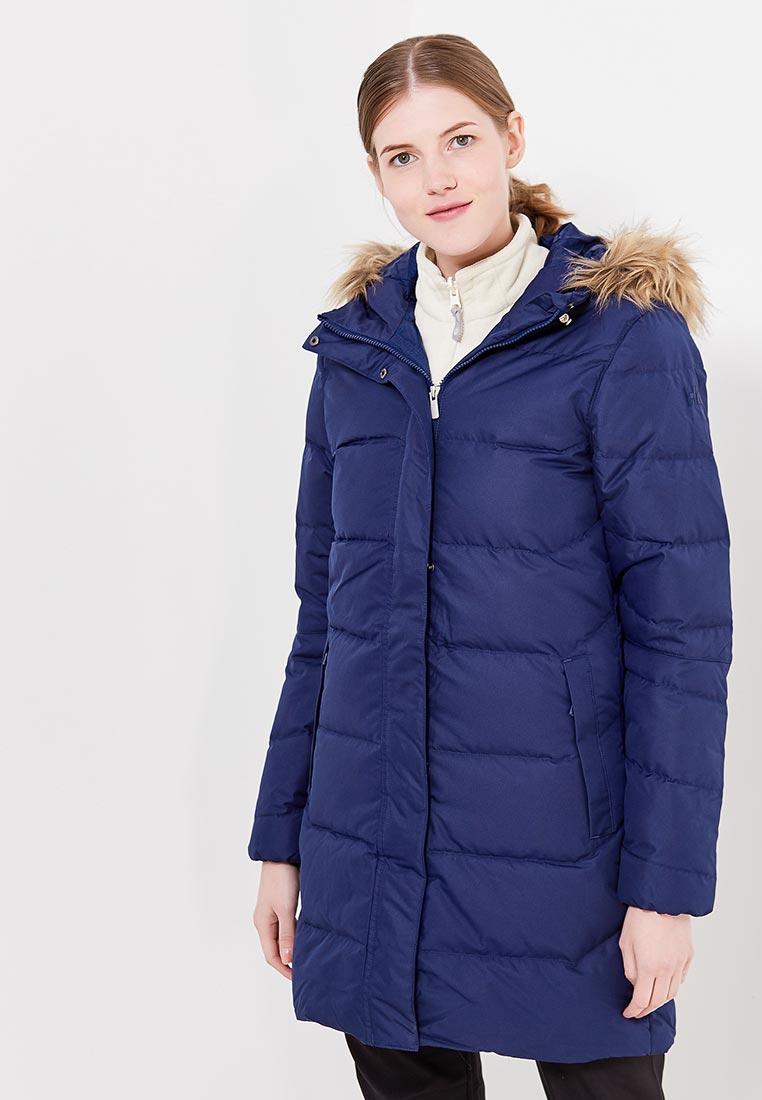 Парка, Helly Hansen, цвет: синий. Артикул: HE012EWLCE48. Одежда / Верхняя одежда