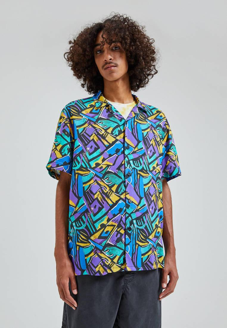 Рубашка Pull&Bear за 1 399 ₽. в интернет-магазине Lamoda.ru