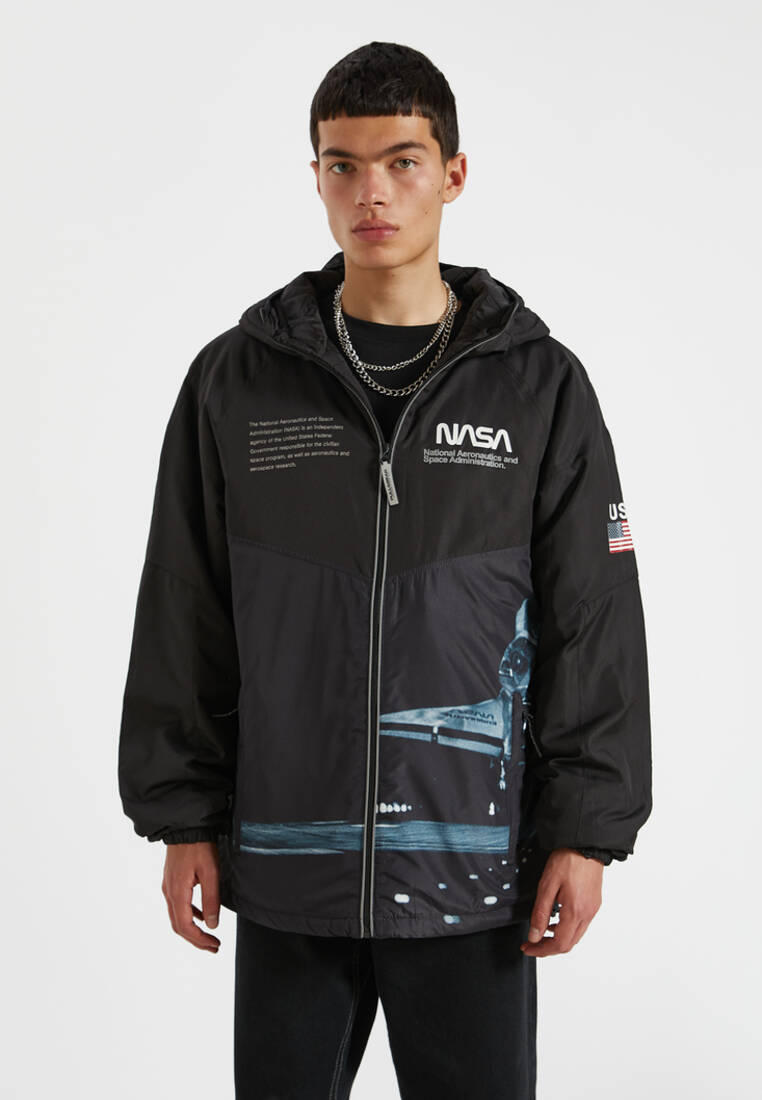 Куртка утепленная Pull&Bear за 3 299 ₽. в интернет-магазине Lamoda.ru