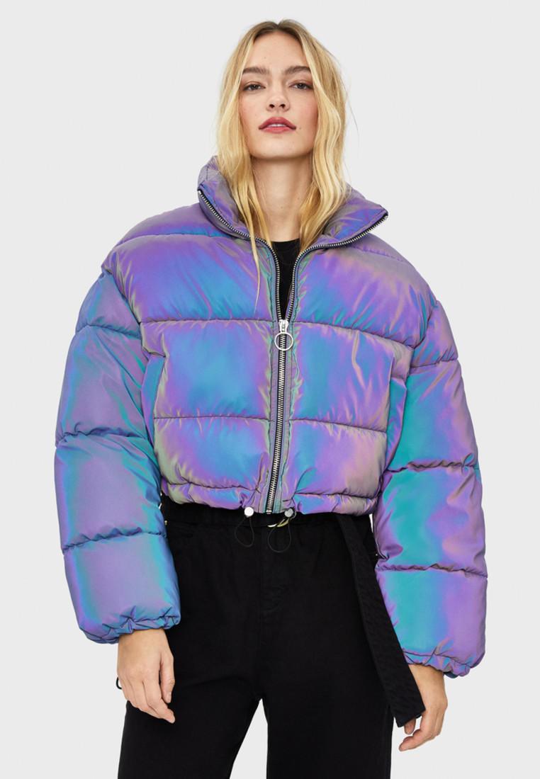 Куртка утепленная Bershka  купить за 4 999 ₽ в интернет-магазине Lamoda.ru