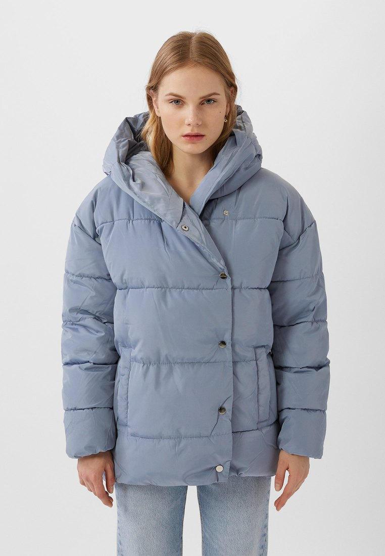 Куртка утепленная Stradivarius купить за в интернет-магазине Lamoda.ru