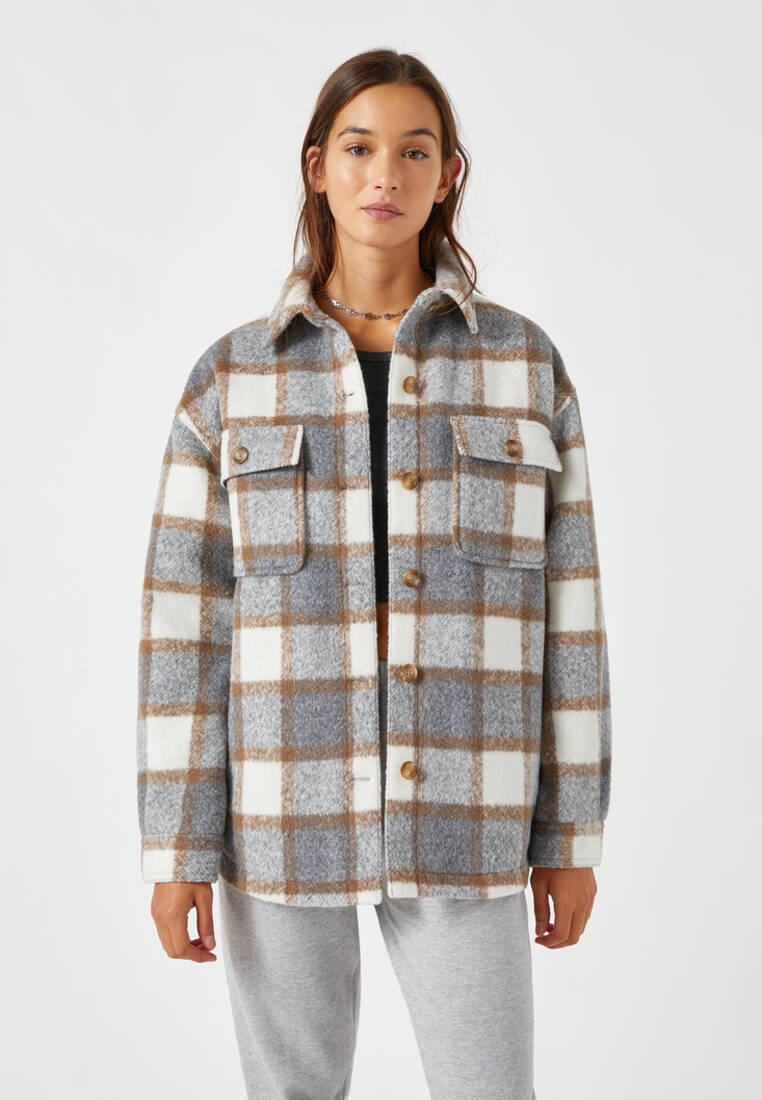 Куртка Pull&Bear за 3 999 ₽. в интернет-магазине Lamoda.ru