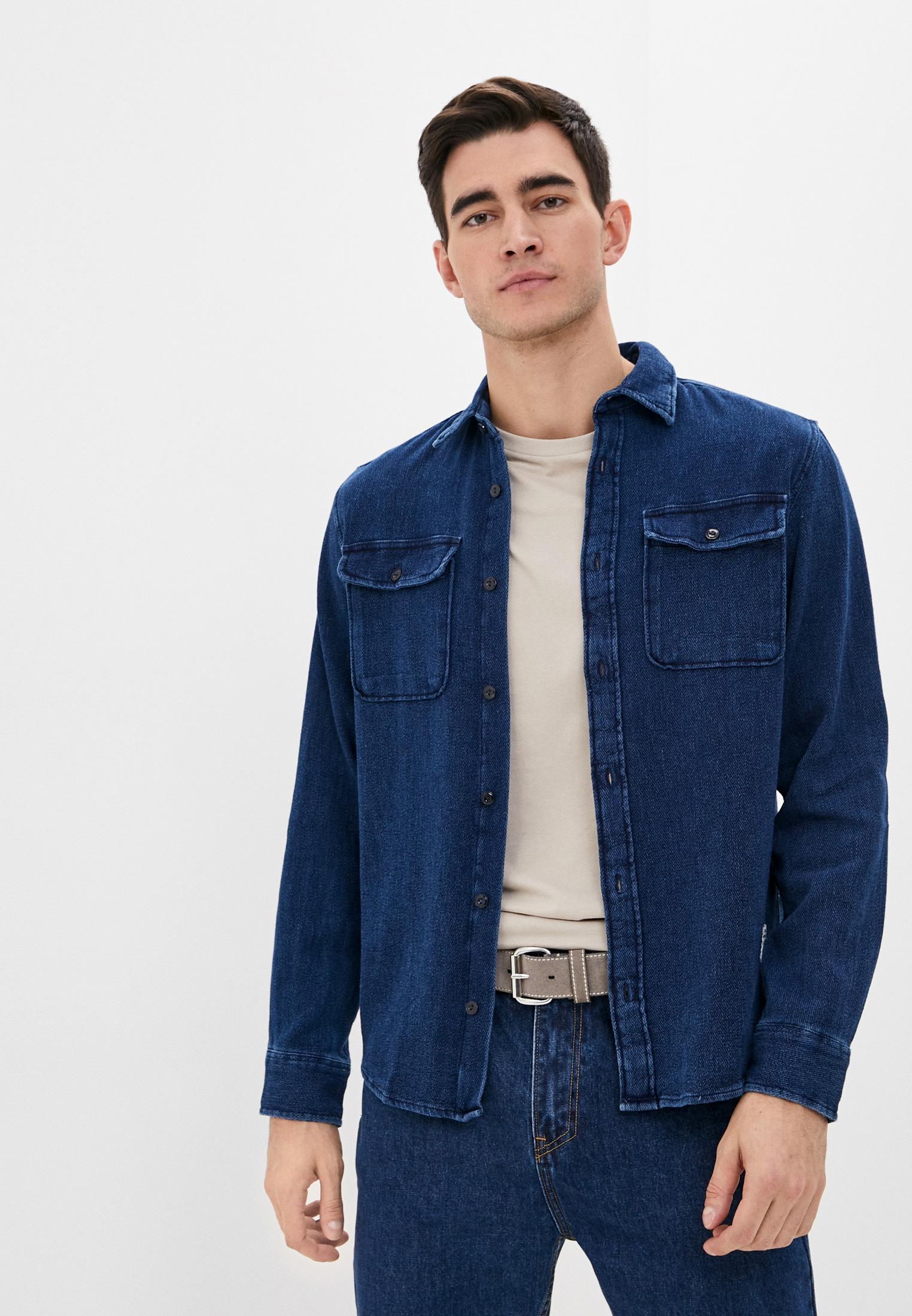 Рубашка джинсовая Jack & Jones за 3 050 ₽. в интернет-магазине Lamoda.ru