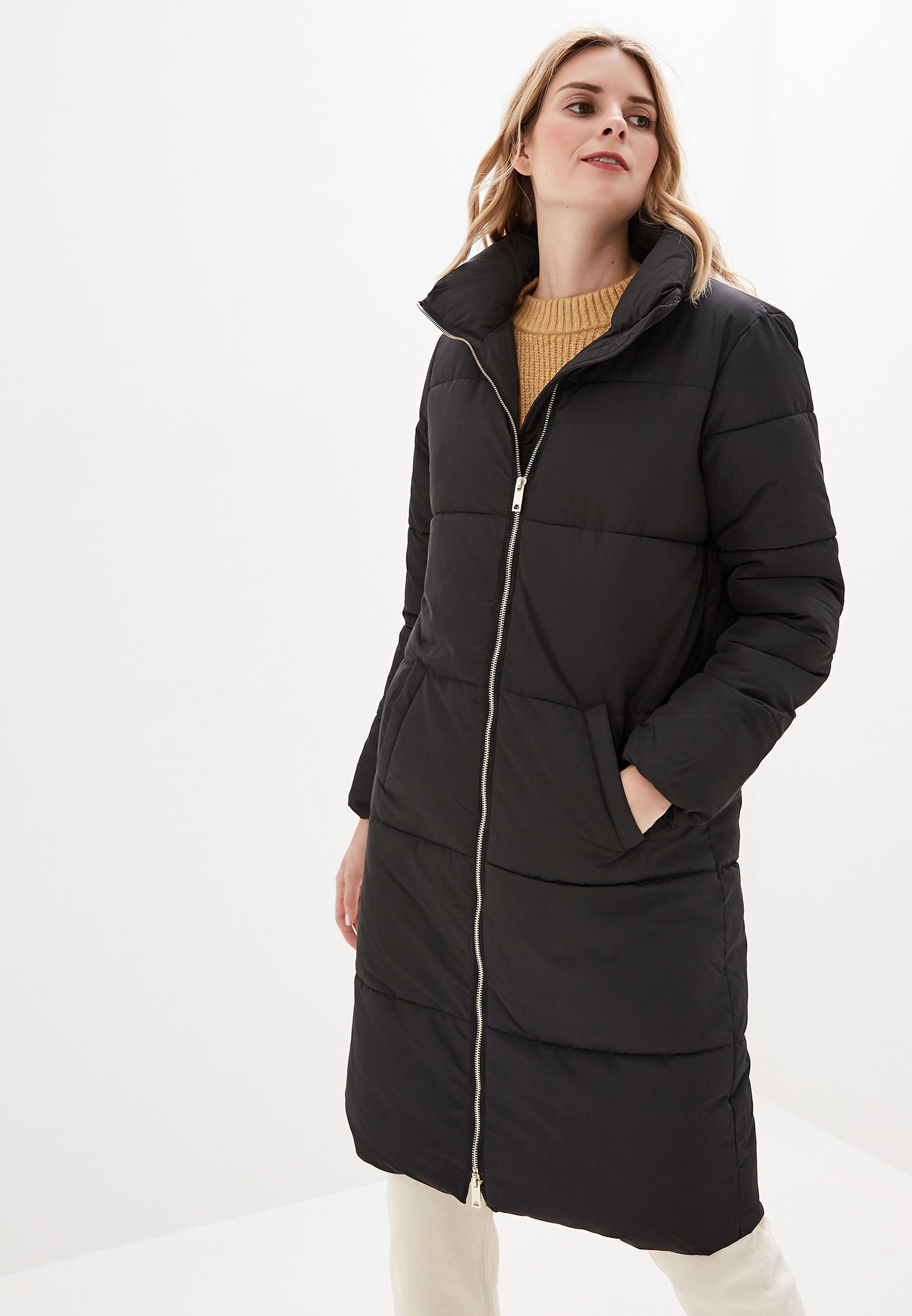 Куртка утепленная, Jacqueline de Yong, цвет: черный. Артикул: JA908EWFKIJ1. Одежда / Верхняя одежда