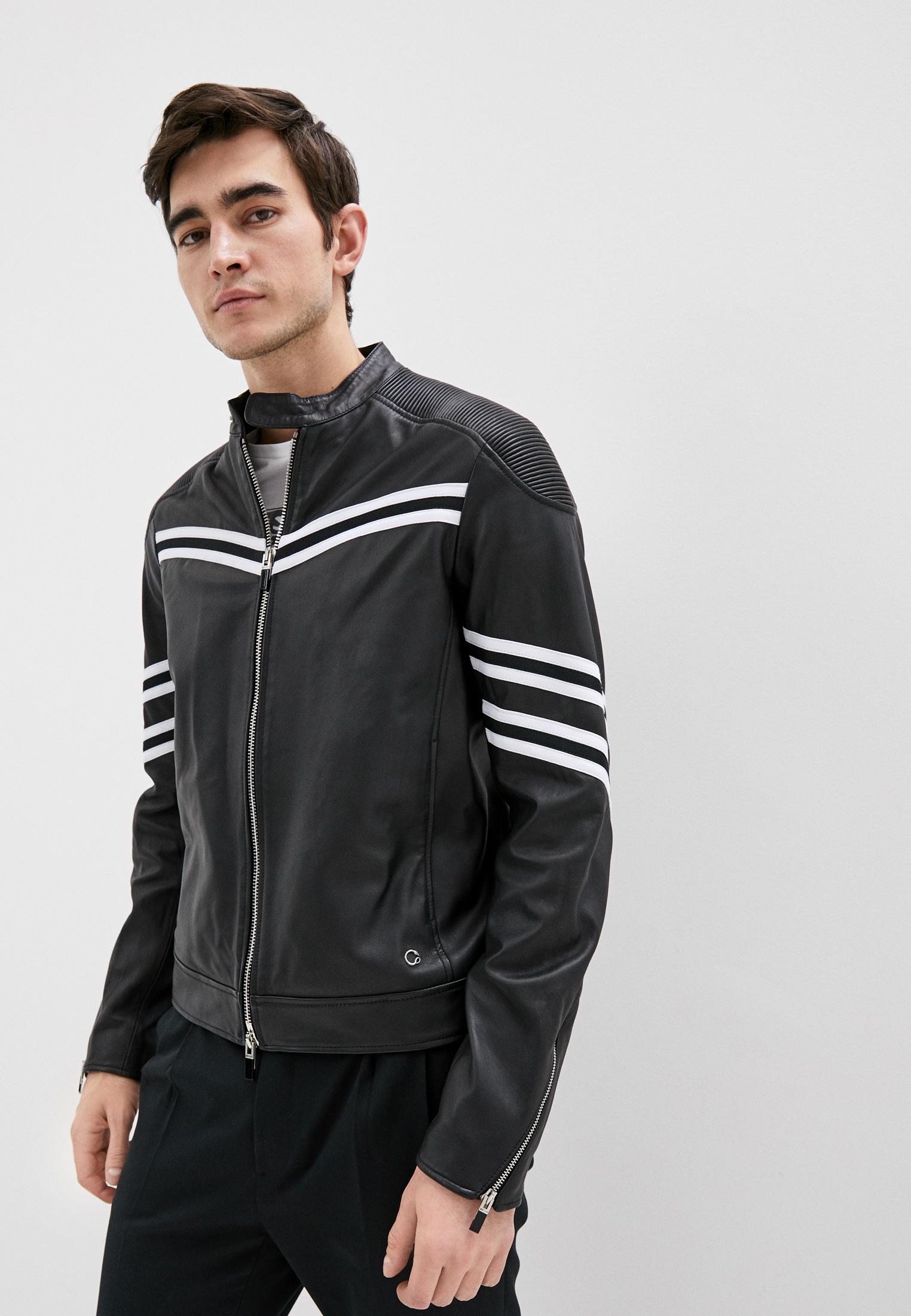 Just Cavalli Куртка кожаная
