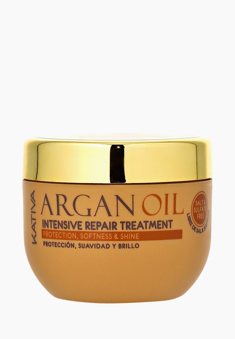 Kativa Маска для волос ARGANA интенсивная восстанавливающая с маслом арганы