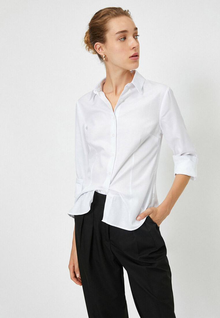 Рубашка Koton за 1 100 ₽. в интернет-магазине Lamoda.ru