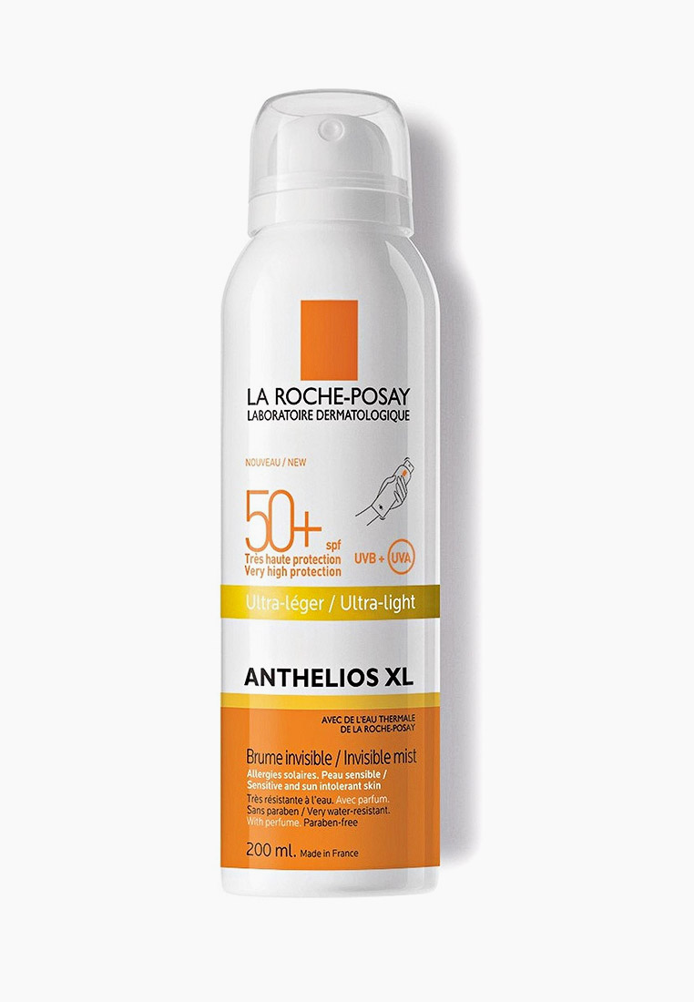 La Roche-Posay Спрей солнцезащитный ANTHELIOS XL, 50+, 200 мл