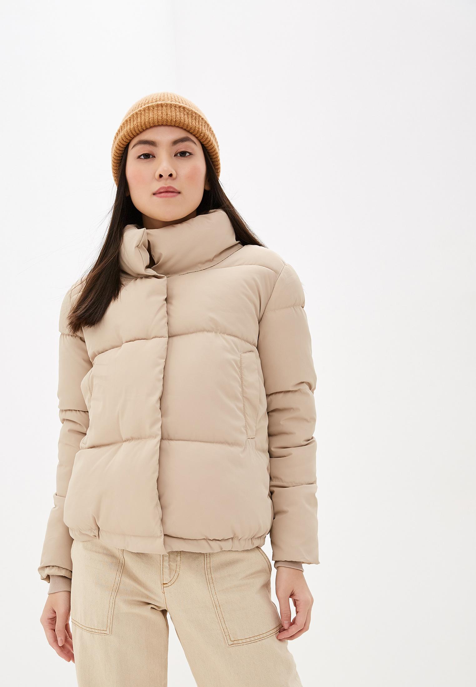 Куртка утепленная, Lenavi, цвет: бежевый. Артикул: LE054EWHNCF0. Одежда / Верхняя одежда