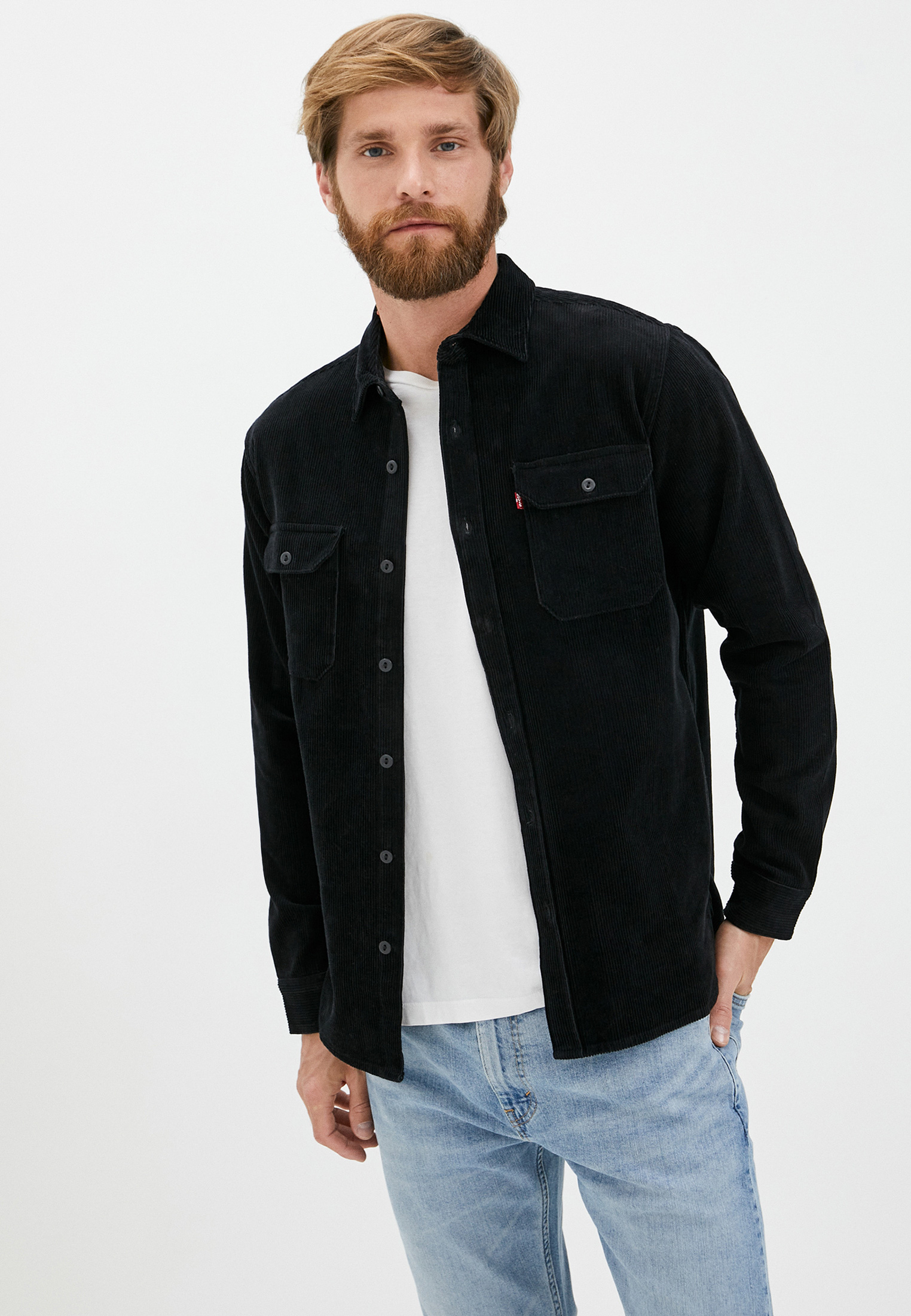 Рубашка Levi's® за 6 500 ₽. в интернет-магазине Lamoda.ru