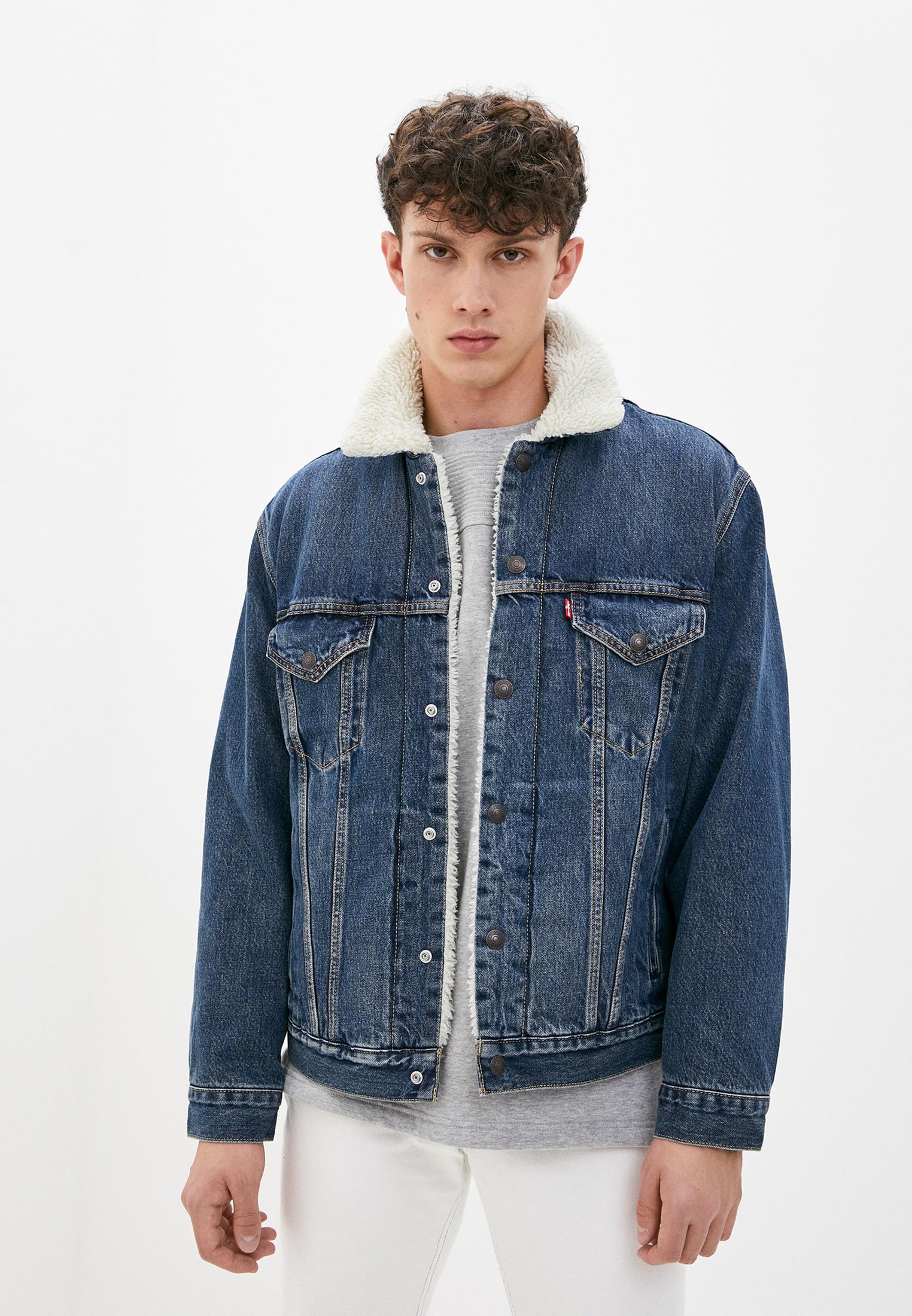 Куртка джинсовая Levi's® за 9 770 ₽. в интернет-магазине Lamoda.ru