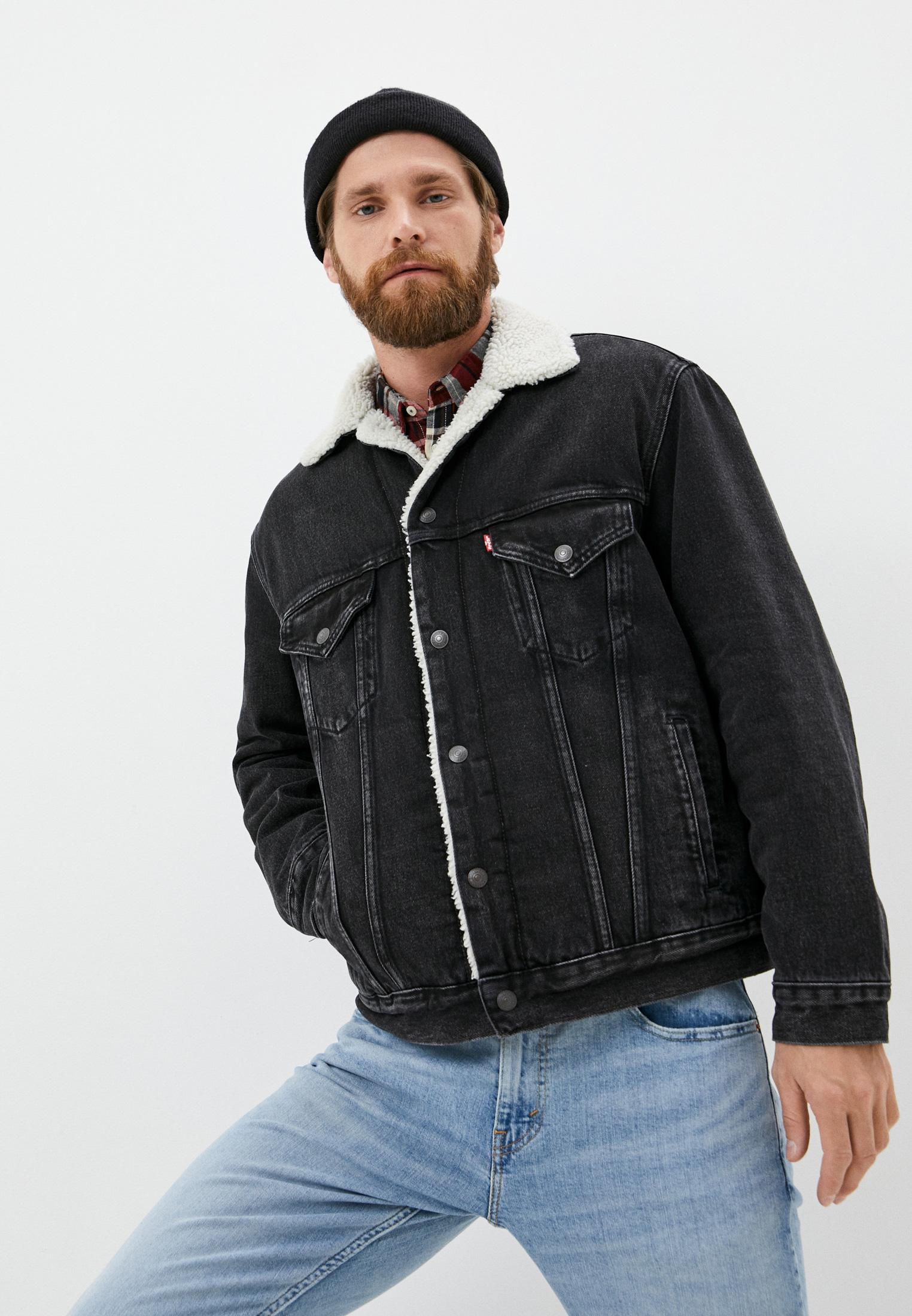 Куртка джинсовая Levi's® за 11 500 ₽. в интернет-магазине Lamoda.ru