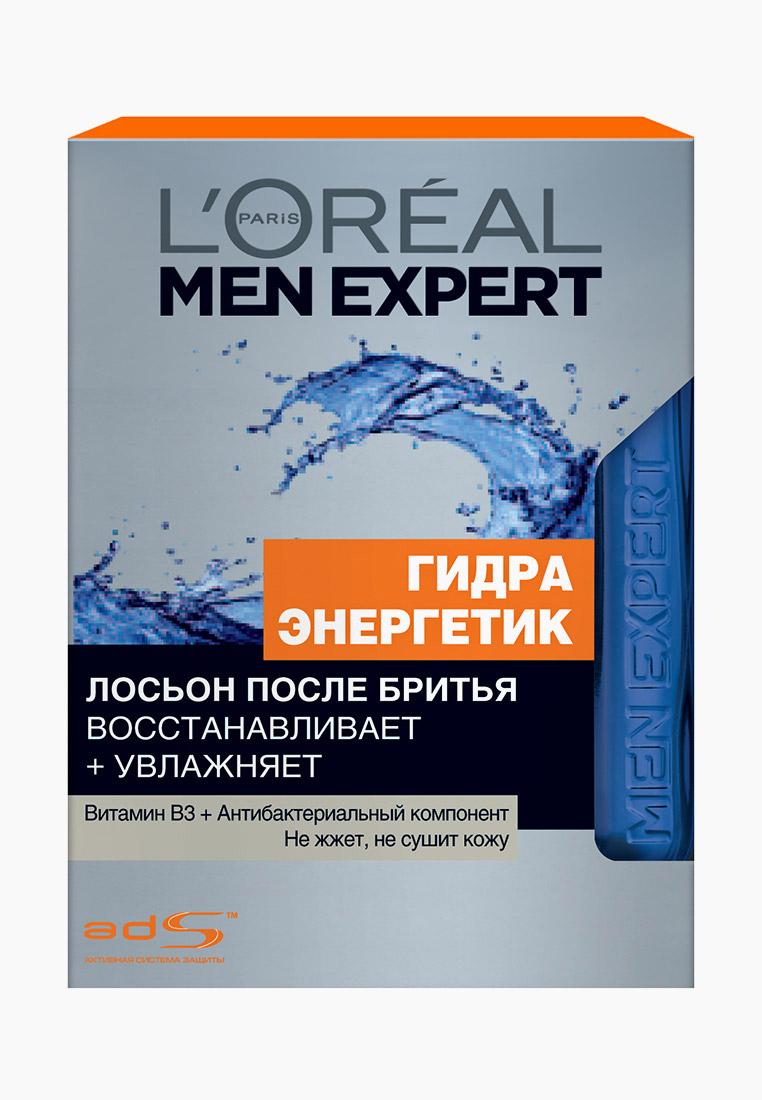 """L'Oreal Paris Лосьон после бритья Men Expert """"Гидра Энергетик"""" с антибактериальным эффектом, увлажняющий, восстанавливающий, 100 мл"""