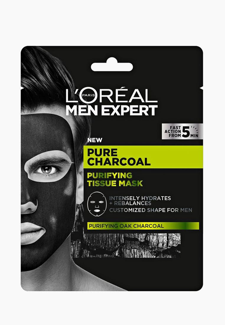 """L'Oreal Paris Маска для лица """"Pure Power. Черный уголь"""", 36 гр."""
