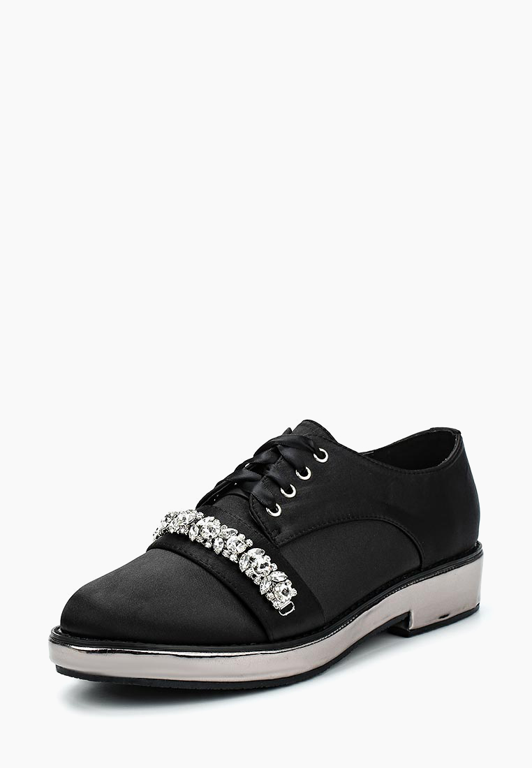 Ботинки LOST INK FLO METALLIC PLATFORM BROGUE