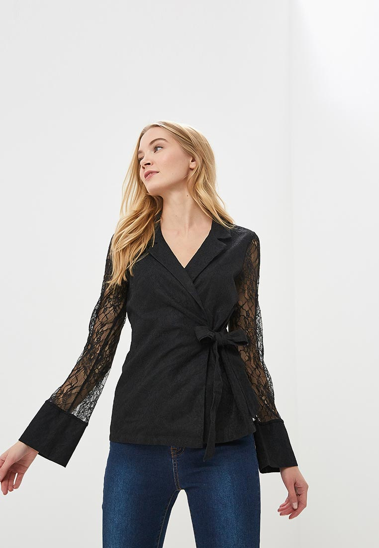 Блуза LOST INK LACE WRAP SHIRT