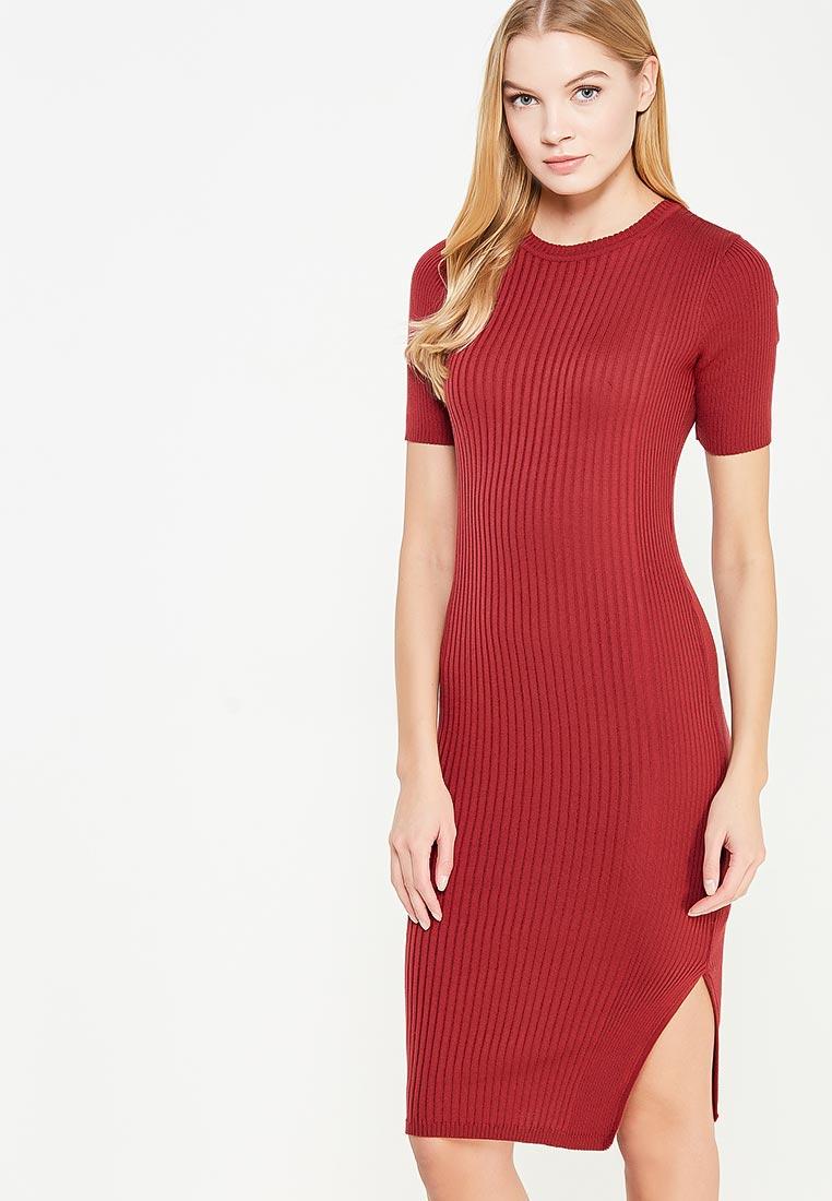 e3391903ab5c11a Платье LOST INK ESSENTIAL RIB DRESS купить за 1 310 руб LO019EWYOT39 ...