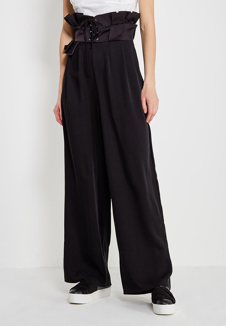 Классические брюки с завышенным поясом фото