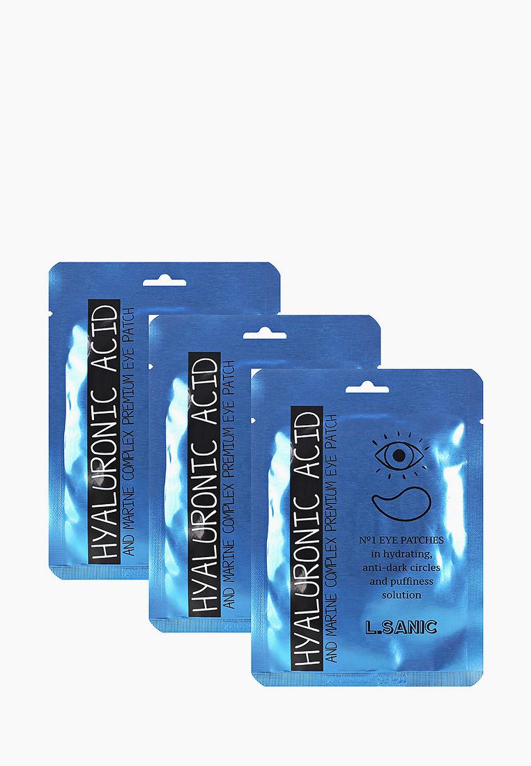 L.Sanic Патчи для глаз с гиалуроновой кислотой и экстрактом водорослей, 2шт*3уп
