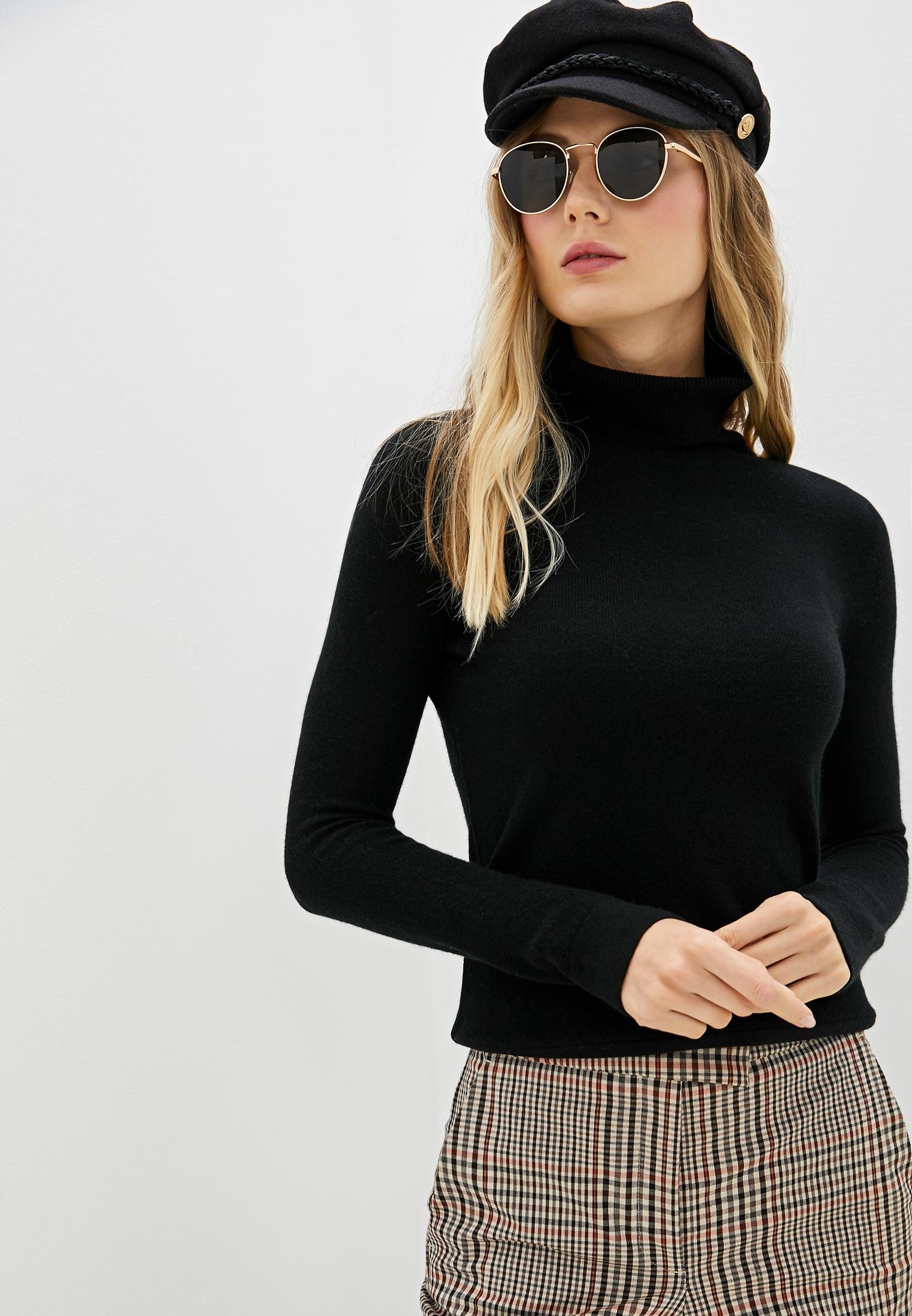 Водолазка, Lusio, цвет: черный. Артикул: LU018EWGWCV1. Одежда / Джемперы, свитеры и кардиганы