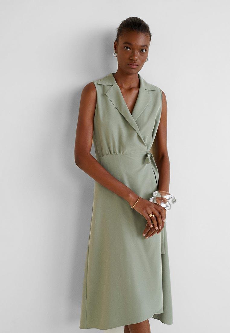 ba412bec82de48b Платье Mango - CALA купить за 149.99 р MA002EWEUNJ3 в интернет ...