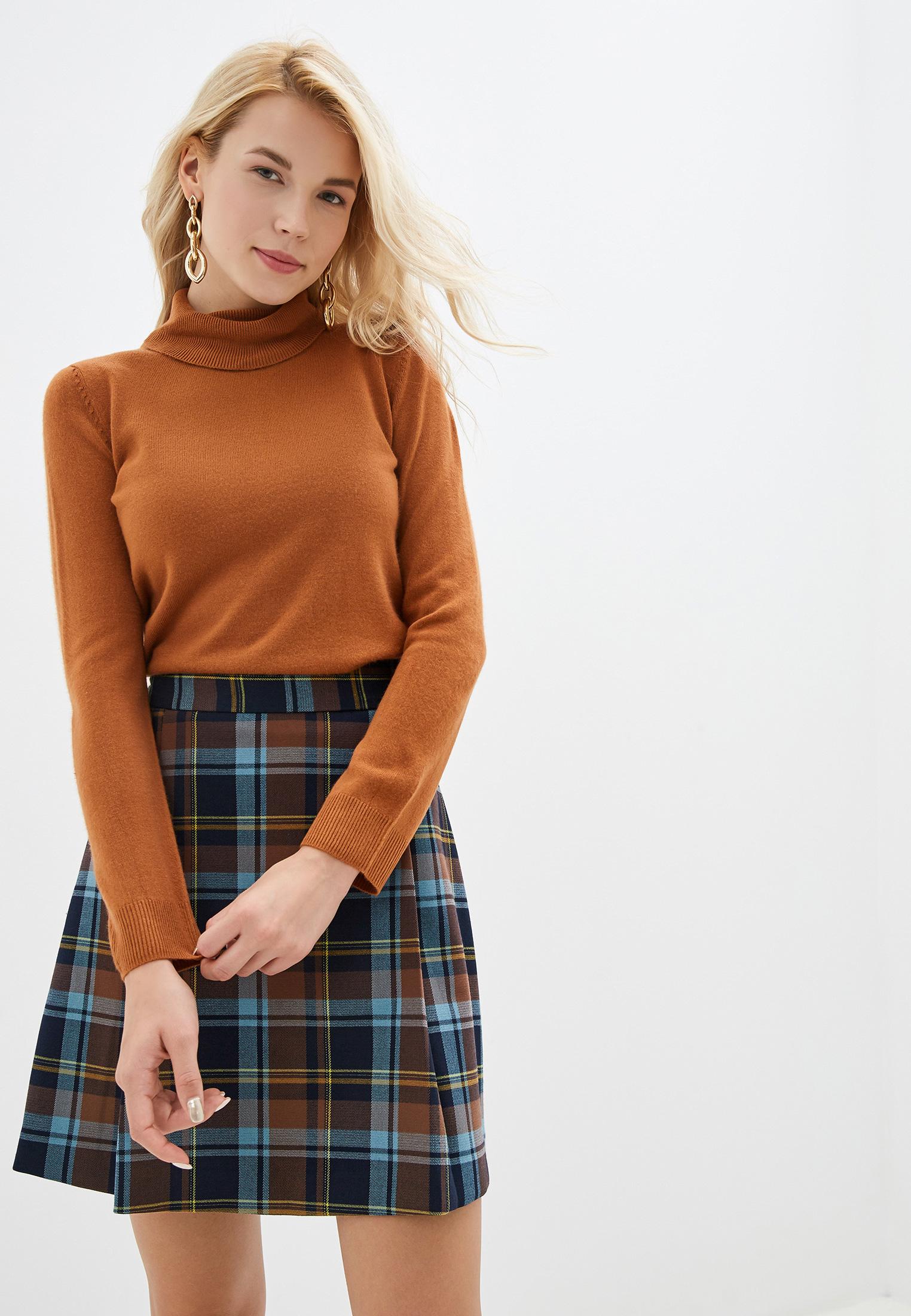 Водолазка, Marks & Spencer, цвет: коричневый. Артикул: MA178EWGCWU4. Одежда / Джемперы, свитеры и кардиганы