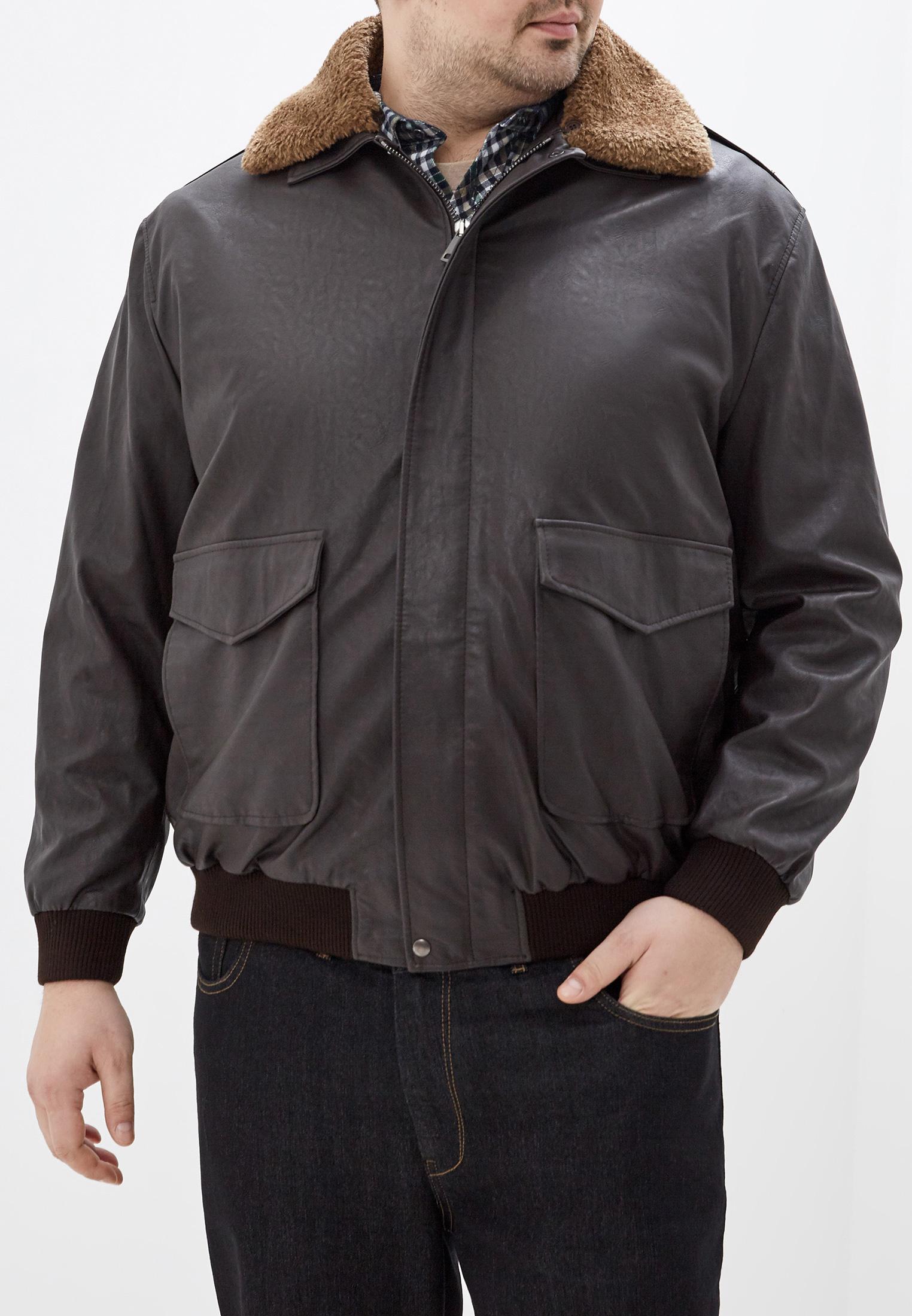 Куртка кожаная, Maxfort, цвет: черный. Артикул: MA201EMGOII4. Одежда / Верхняя одежда / Кожаные куртки