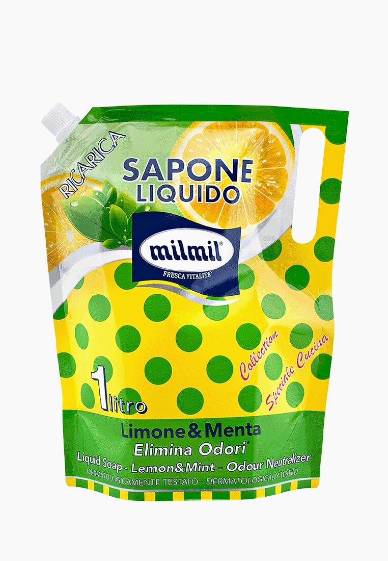 "MilMil Мыло ""Лимон и мята"" 1000 мл."