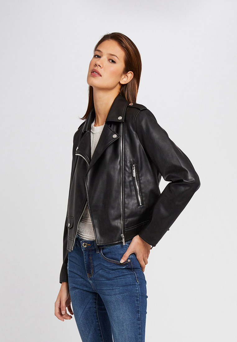 Куртка кожаная Morgan купить за в интернет-магазине Lamoda.by