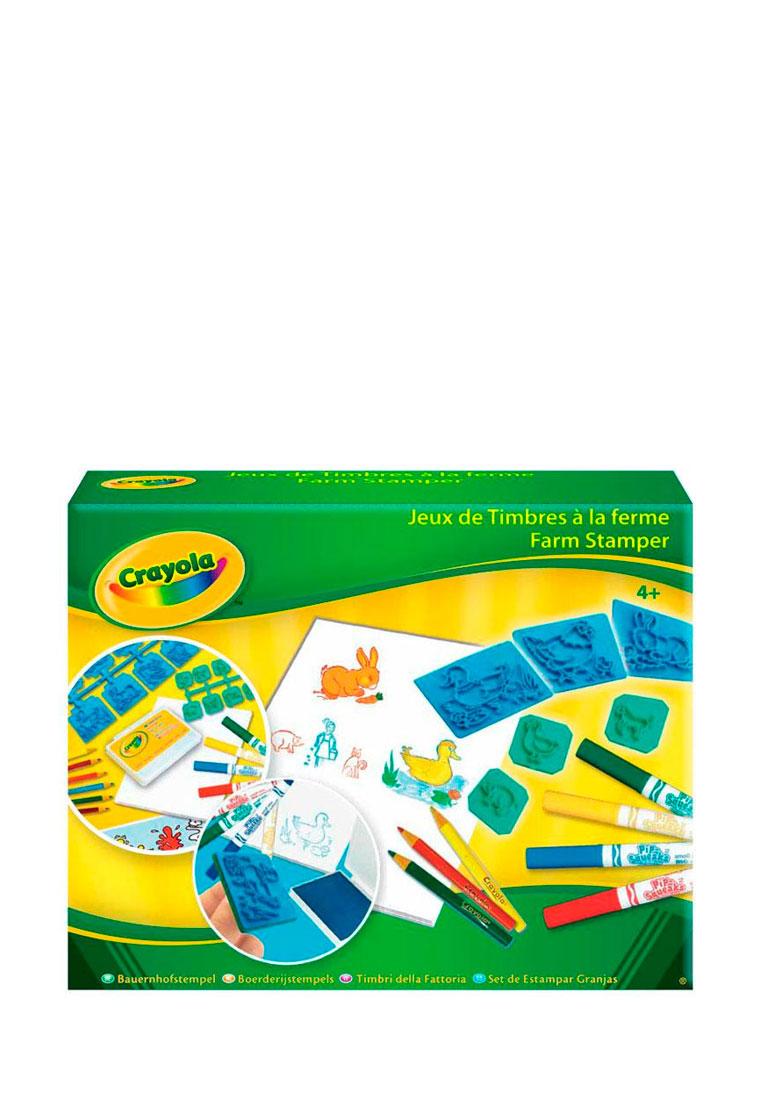 Crayola Набор для творчества Набор для рисования с резиновыми штампами