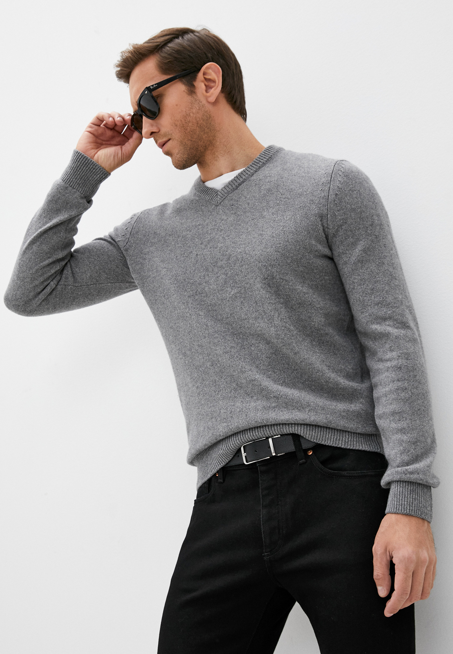 Пуловер Boss Kontrevo за 13 000 ₽. в интернет-магазине Lamoda.ru