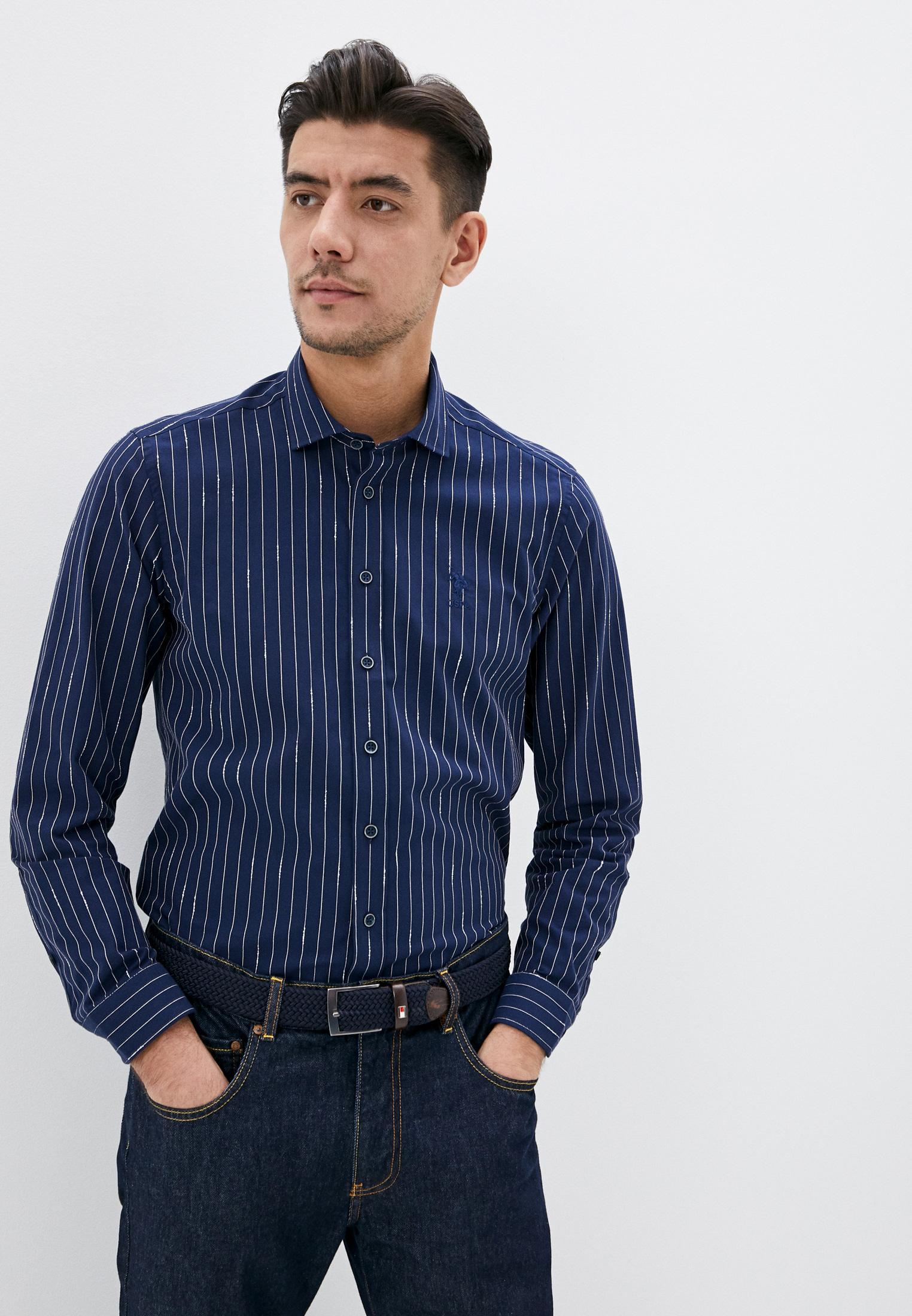 Рубашка U.S. Polo Assn. за 3 899 ₽. в интернет-магазине Lamoda.ru